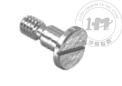 精密316不锈钢超薄头一字轴肩螺丝