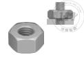 316不锈钢加宽六角螺母