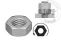 碳钢&不锈钢左旋薄型六角螺母