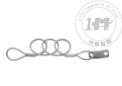 环-片可伸缩钢丝系索绳(非起重用)