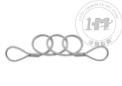 环-环可伸缩钢丝系索绳(非起重用)