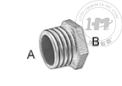 低壓鐵鍍鋅螺紋管接頭