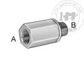 公制緊湊型高壓鋼螺紋管接頭