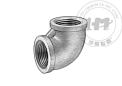 低壓熱浸鋅鐵和鋼螺紋管接頭