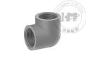 厚壁深灰色PVC螺紋管接頭與法蘭