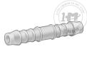 公制縮醛塑料插心管接頭 - 空氣、水