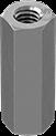 18-8不锈钢连接螺母