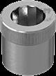不锈钢嵌入式杯头内六角螺丝用螺母